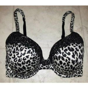 Victoria's Secret Lightly Lined Leopard Print Bra